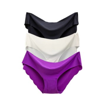 Sexy Panties for Women Briefs Set Seamless Lingerie Solid Mid-Waist Cotton Panty Female Underpants Underwear  High Quality women cotton underwear sexy panties seamless underpants for female pure cotton soft briefs mid waist briefs lingerie for women