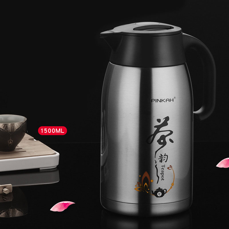 PINKAH Household Tea Pot Insulated Pot Spacious With Tea Strainer Coffee Pot Stainless Steel Insulated Tea Pot Tea 3115