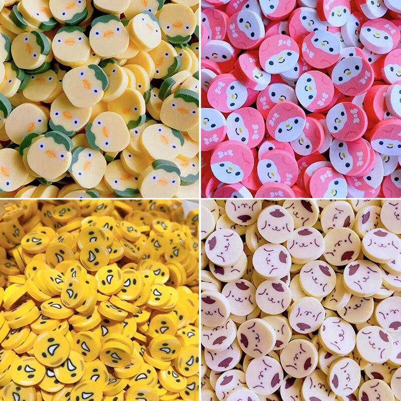 100 г, милое яйцо для собак, кусочки глины для девочек, полимерная Горячая глина, полимерная глина, полимерная глина, поделки «сделай сам», мин...
