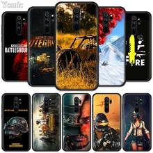 PUBG Game Fitted Case for Xiaomi Redmi Note 8T 6 7 8 K20 Pro 8A 7A 7S 6A Silicone Black Phone Bag Cover Coque pubg game fitted case for xiaomi redmi note 8t 6 7 8 k20 pro 8a 7a 7s 6a silicone black phone bag cover coque