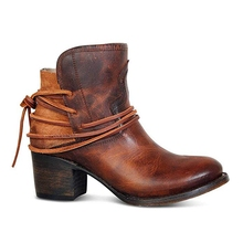 WENYUJH Fashion Autumn Women Boots Mid Heels Shoes Female Rivet Buckle Daily