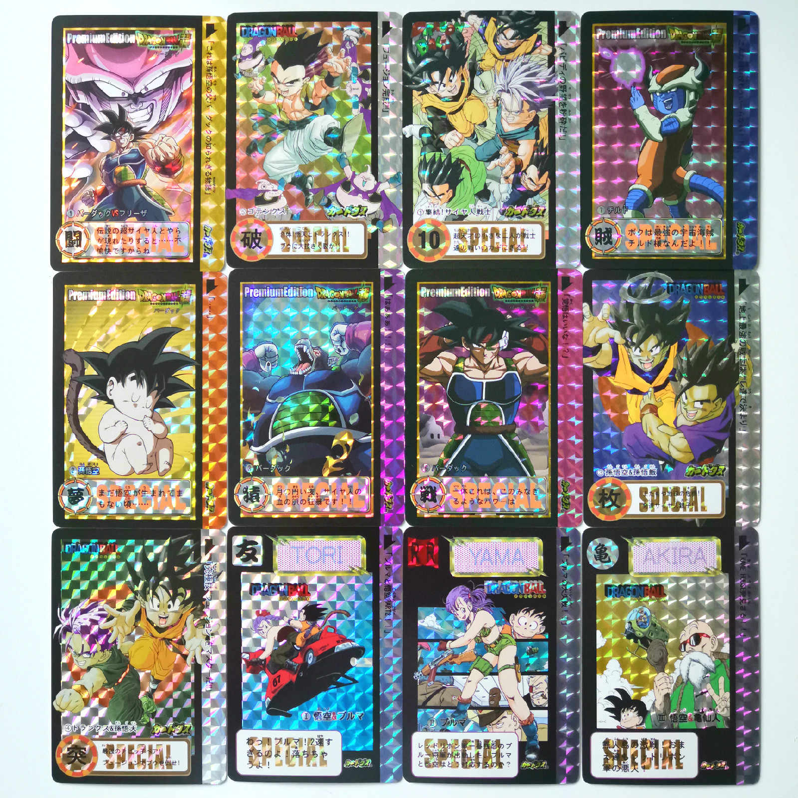 50pcs/set Super Dragon Ball Z Heroes Storm Clouds 11 Battle Card Ultra Instinct Goku Vegeta Game Collection Cards