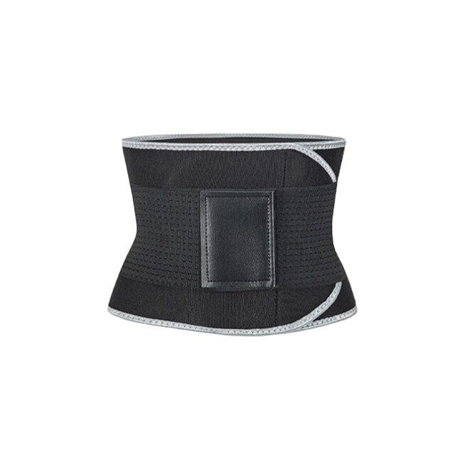 Women Men Fitness Waist Belt Waist Trimmer Belt Weight Loss Sweat Band Gym Training Weightlifting Slim Belts Body Shaper KT01 5
