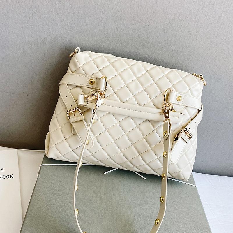 с доставкой Large  Shoulder Bags 2020 Women's Bag Trend Elegant Handbags Female Travel Totes Lady Fashion Hand Bag Designer