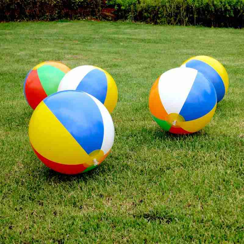 15/23/30/36/40cm Inflatable Beach Ball Colorful Kids Playing Water Polo Toys Summer Outdoor Swimming Inflatable Ball Water Toys