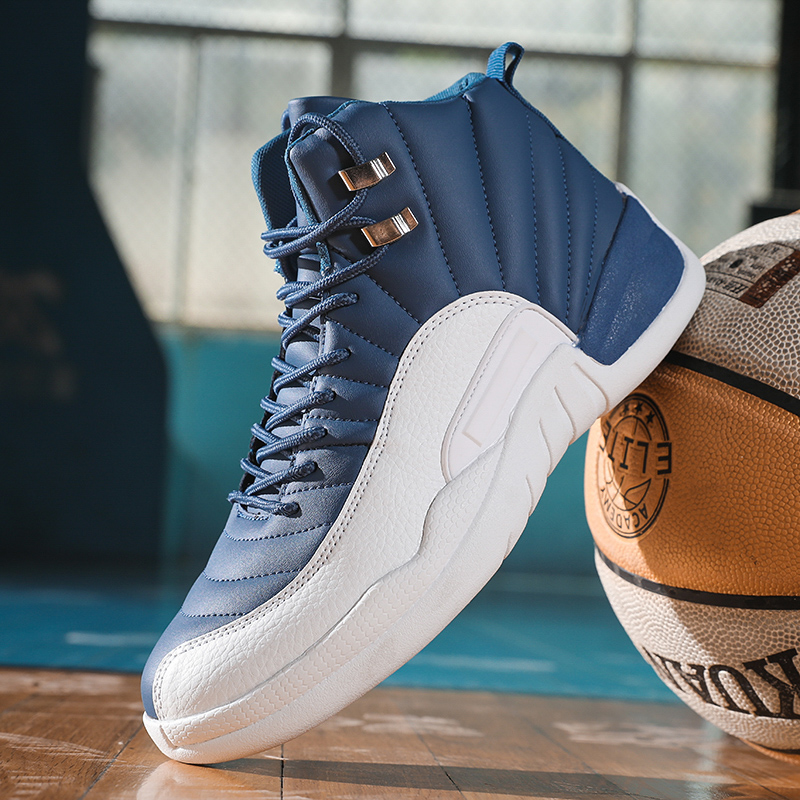 Zapatillas De Baloncesto De Alta Calidad Para Hombre, Calzado Antideslizante Transpirable Para Deportes Al Aire Libre