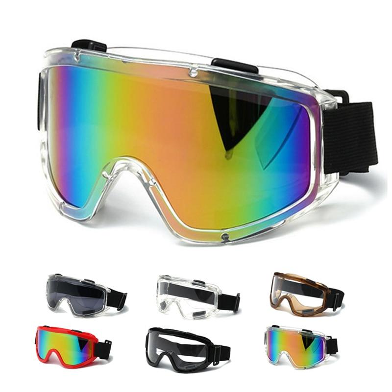 Ski Goggles Men Women Snowboard Goggles Glasses for Skiing UV400 Protection Snow Skiing Glasses Anti-fog Ski Mask rubber band
