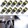 10 Pcs T10 Led Car Interior Bulb Canbus For VW Golf Polo Passat Scirocco Tiguan for Skoda Octavia Seat