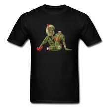 Horror Zombie Film T-Shirt Im Dead Not Ugly Men High Quality Pure Cotton O Neck Famous Brand T Shirt Sexy Tshirt