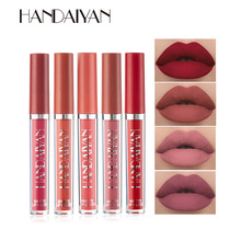 Makeup Lipstick Cosmetic Lip Gloss Lip Tint Long-Lasting-Moisture Waterproof Red