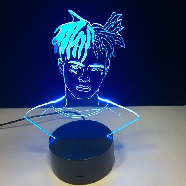 XXXTENTACION 3D LED LAMP