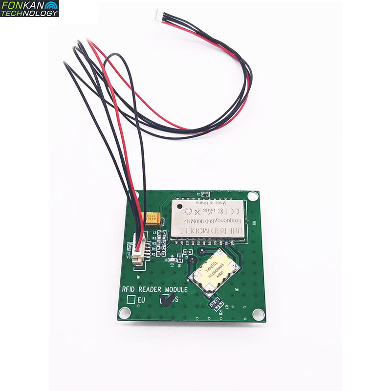 Samll Size Low Cost RFID Module With 3dBi Antenna UHF RFID 902-928MHz All-in-one Module For Raspberry Pi TTL232 Interface