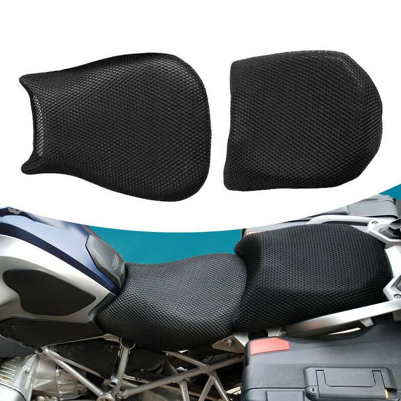 NEW-Motorcycle Sunscreen Seat Cover Cooling Mesh Cover For BMW R1200G