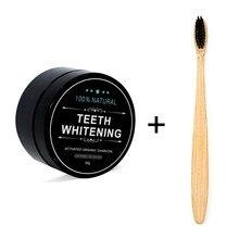 30g Clareamento Dos Dentes Oral Care Branqueadoras de Dentes de Carvão Ativado Em Pó de Carvão Vegetal Em Pó Natural do Cuidado do Dente Oral Higiene Dental