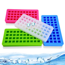 40-hole silicone ice tray Ice grid mold box Square small cube