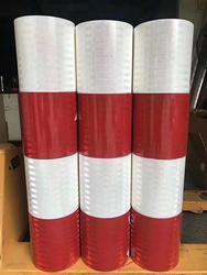 122 CENTIMETRI * 45.7M PET ad Alta resistenza Microprism Super Grado di Ingegneria EGP Riflettore Pellicola Doppio-Classe di colore II Rivestimento Riflettente