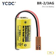 YCDC BR-2/3AG батарея 3V 1200mAh PLC Fanuc управление Литий-ионные резервные батареи для Fanuc CNC системы