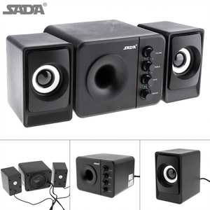 Computer-Speaker Subwoofer Desktop Audio-Plug USB 3 with And for Cellphone/mp4 D-205