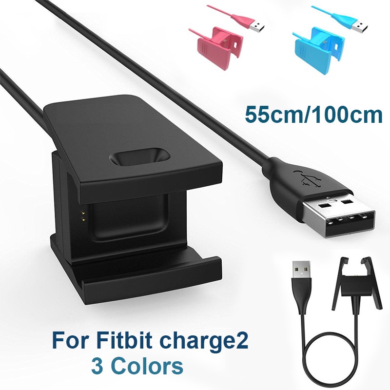 USB Charger For FITBIT CHARGE HR Wristband Fitness Activity Tracker Sync Cable