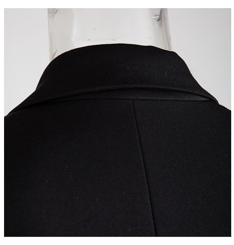 Ha107936cc1114f3c9d60422d2e43a5b1H [EAM] Loose Fit Black Hollow Out Pin Spliced Jacket New Lapel Long Sleeve Women Coat Fashion Tide Autumn Winter 2019 JZ500