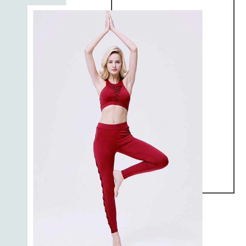 Image 2 - 2019 новый весенний женский костюм, сексуальная сетчатая веревка для молодых девушек, дизайнерская одежда для фитнеса on AliExpress