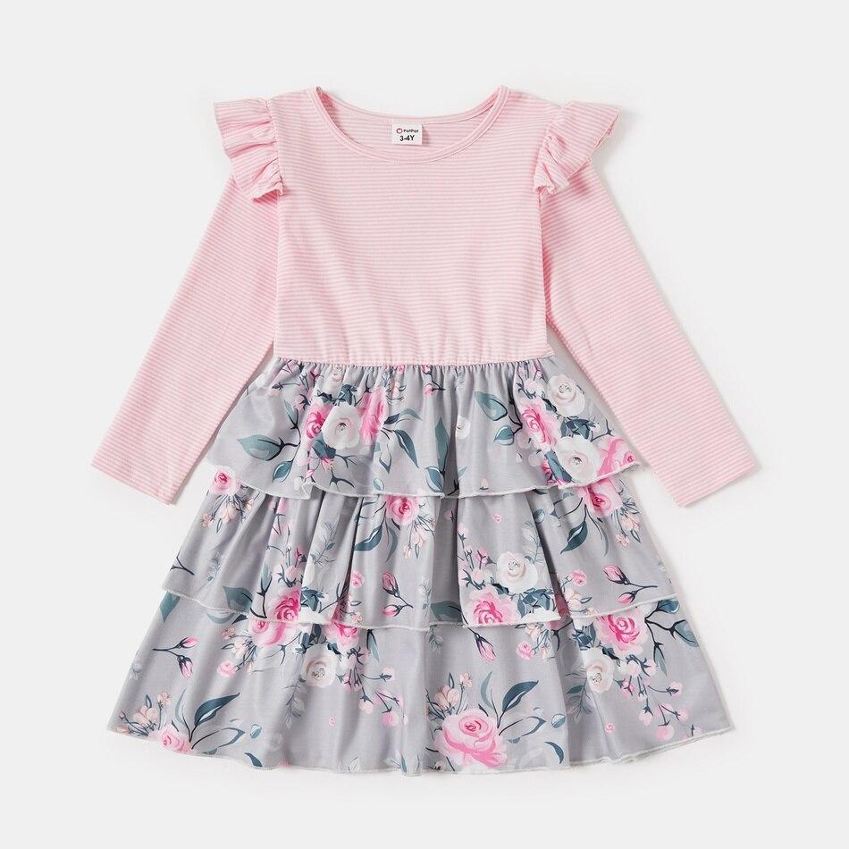 Купить новое поступление осенние и весенние платья patpat с цветочным