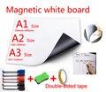 Магнитная белая доска  магниты на холодильник  доска для сообщений  школьная доска для детей  белая доска для рисования с: ручка  ластик  двой...