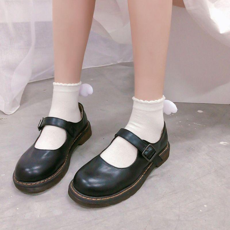 Japanese Lolita Angel Wings Socks 3