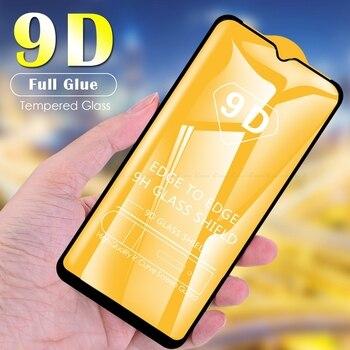 Перейти на Алиэкспресс и купить 9D закаленное стекло, Защитная пленка для экрана с полным покрытием для Oppo AX5 AX5s AX7 A1K A11x A12 A12e A52 A72 A8 A9 A9x A92s