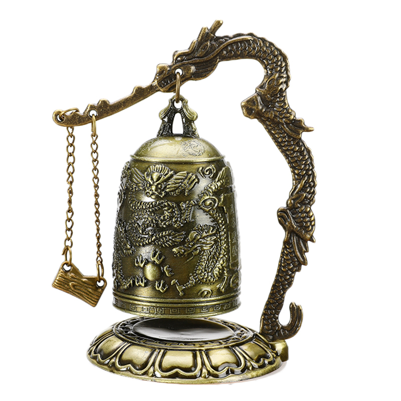 Buddhism Temple Brass Dragon Bell