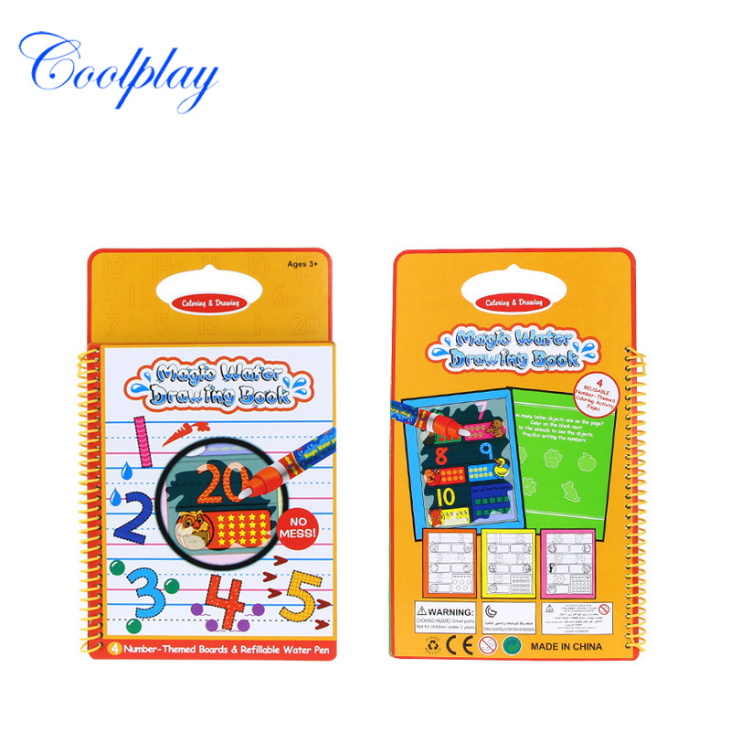 Cp1385-1 With Numbers Graffiti CHILDREN'S Drawing Board Environmentally Friendly Water Drawing Board Environmentally Friendly Ki