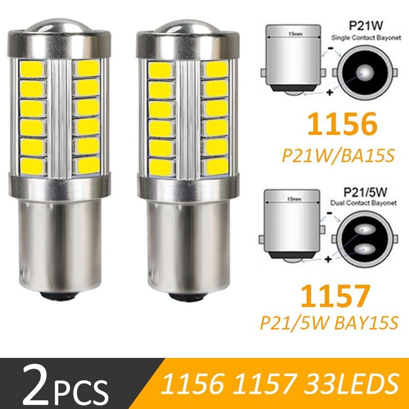 1156 1157 P21/5 Вт BAY15D 33SMD 5630 5730 светодиодный супер яркий стоп-светильник s противотуманная фара 21/5 Вт Авто Дневной ходовой светильник стоп-сигнал 12...