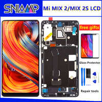 "5.99"" Original LCD For XIAOMI Mi Mix 2 Display Touch Screen Digitizer Assembly With Frame For Mix 2S MIX2 LCD Screen Replacement"