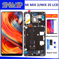 5.99 Original LCD For XIAOMI Mi Mix 2 Display Touch Screen Digitizer Assembly With Frame For Mix 2S MIX2 LCD Screen Replacement