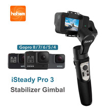 Hohem iSteady Pro 3 3-Axis Gimbal Stabilizer Handheld Gimbal for GoPro 8 Action Camera for Gopro Hero 8,7,6,5,4,3, Osmo DJI