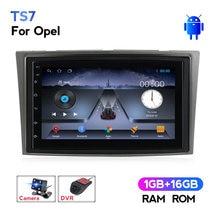 Autoradio Android 2 Din, lecteur multimédia, GPS, pour voiture Opel Astra H, J, 2004, Vectra, Vauxhall, Antara, Zafira, Corsa C, D, Vivaro, Meriva, Veda