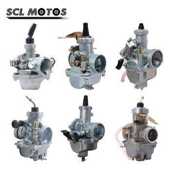Carburador de motocicleta SCL MOTS, Carburador Mikuni VM16 20 22 26 28 30 DT125 19mm 28mm 30mm 32mm, Carburador para motocicleta de 110cc a 250cc