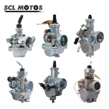 SCL-Carburador de motocicleta Mikuni VM16 20 22 26 28 30 DT125 19mm 28mm 30mm 32mm, Carburador para moto de 110cc a 250cc