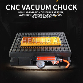 400*800 CNC Вакуумная присоска Инструмент вакуумный постоянный магнит присоска CNC мощный магнит вакуумный диск медь, алюминиевая пластина