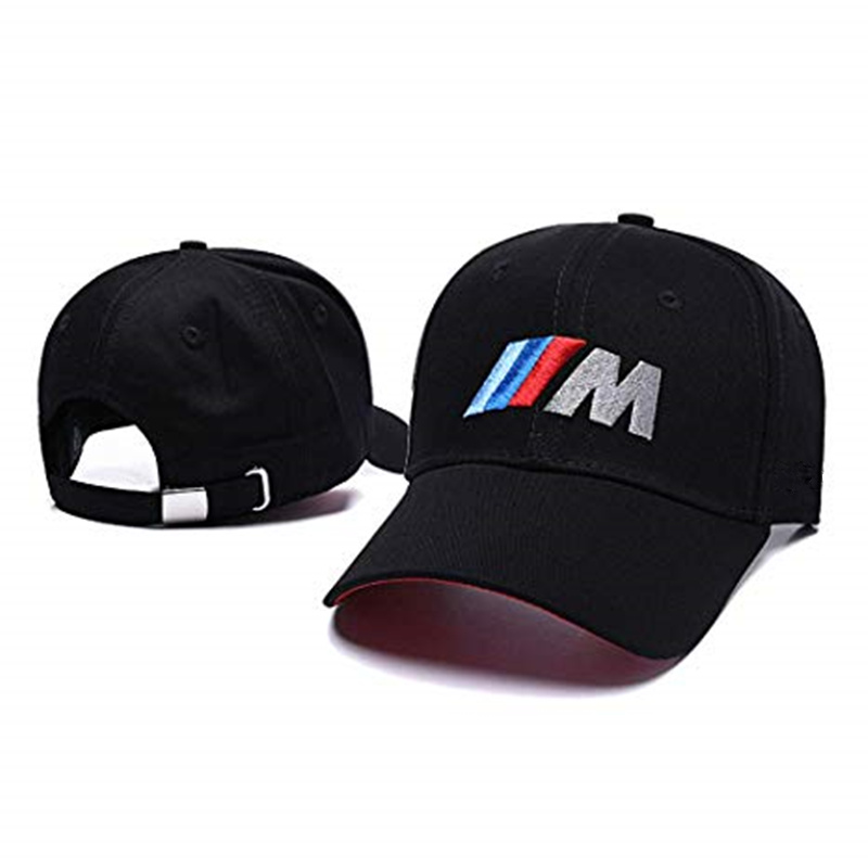 High Quality Men Dad Hat Cotton Car Logo M Performance Baseball Cap Hat Cotton Fashion Hip Hop Cap Caps