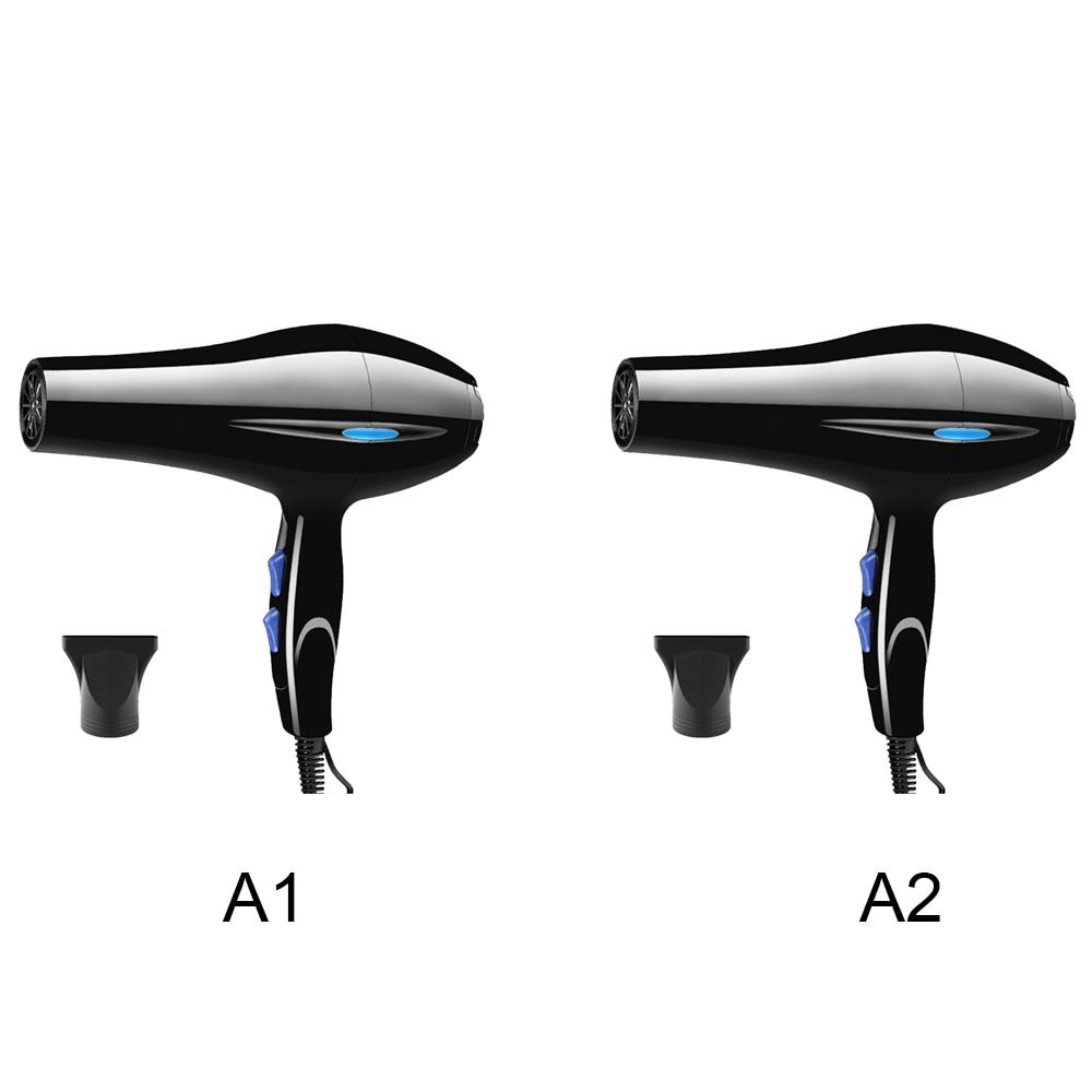 Купить с кэшбэком 2200W Powerful Professional Hair Dryer Tools Dryer Negative Ion Hair Dryers Electric Blow Dryer Hot Cold Air Blower
