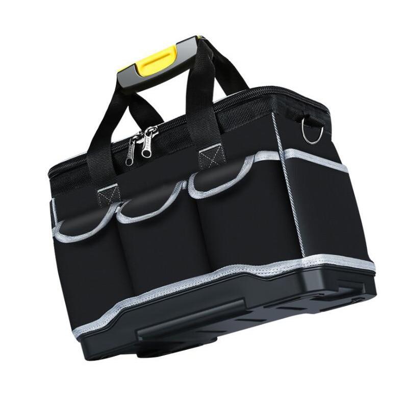 Multi-Function Tool Bag Thickening Repair Tool Bag 13/18/20 Inch Messenger Toolkit Bag Oxford Cloth Waterproof Tool Storage Bag