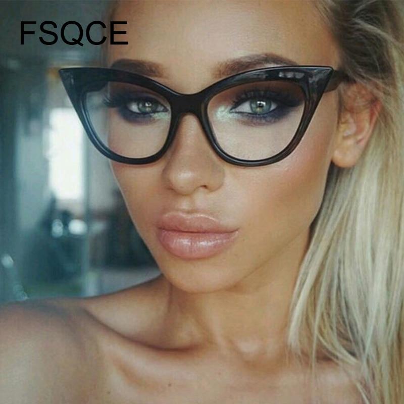 Sun Glasses Cat Eye Sunglasses Women Brand Design Vintage Clear Sunglasses Sexy Ladies Sunglasses Female Oculos Cateye Jenner
