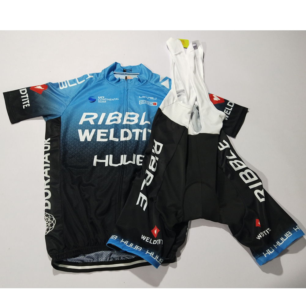 Jersey Bib-Gel-Shorts Bicycle-Clothing Summer-Set HUUB Ribble Short-Sleeve Ciclismo Pro-Team