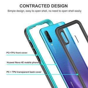 """Image 4 - Wasserdicht Fall für Huawei Ehre 20 Lite Russische Version 6.15 """"MAR LX1H Volle Schutz Schwimmen Tauchen Außen Stoßfest Fall"""