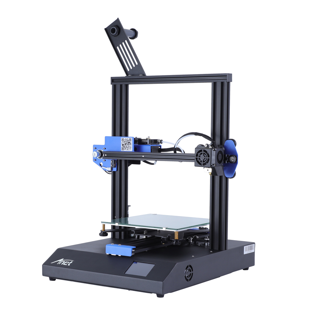 ANET ET4 and ET4 X 3D Printer with Filament Detection/Offline Printing and Color Touch Screen 3