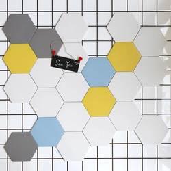 Маленькая плитка для ванной комнаты Кухня настенная плитка для ванной комнаты Шестигранная половая плитка художественный ламинат