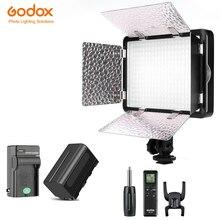 Godox Lámpara de luz LED LED308C II 3300K 5600K para vídeo, mando a distancia para cámara de videocámara DV, batería NP770, cargador, envío gratis