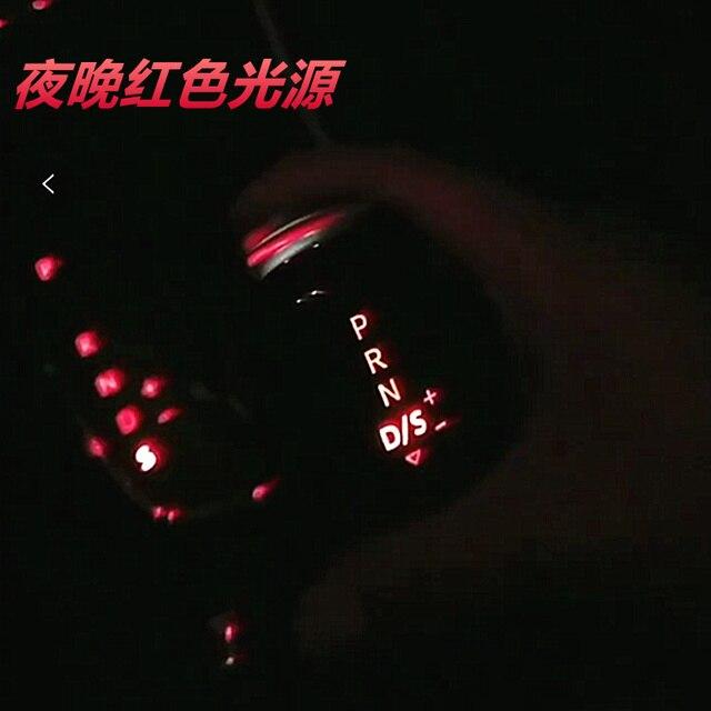 AT DSG LED Synchronize electronic display Gear Shift Knob Shift Lever Handball for V W Passat B7 Golf MK 6 CC Beetle Scirocco
