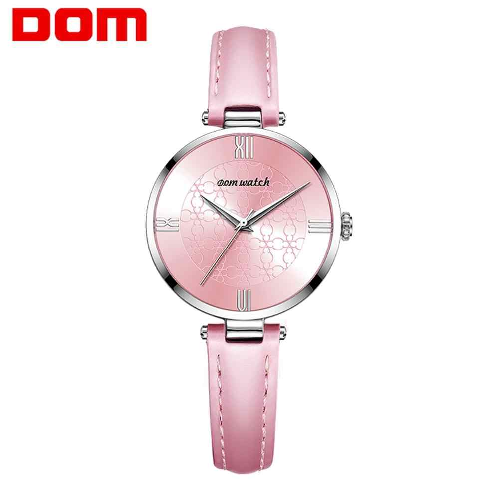 Women's watches brand luxury fashion ladies watch Leather Watch women Female quartz wristwatches